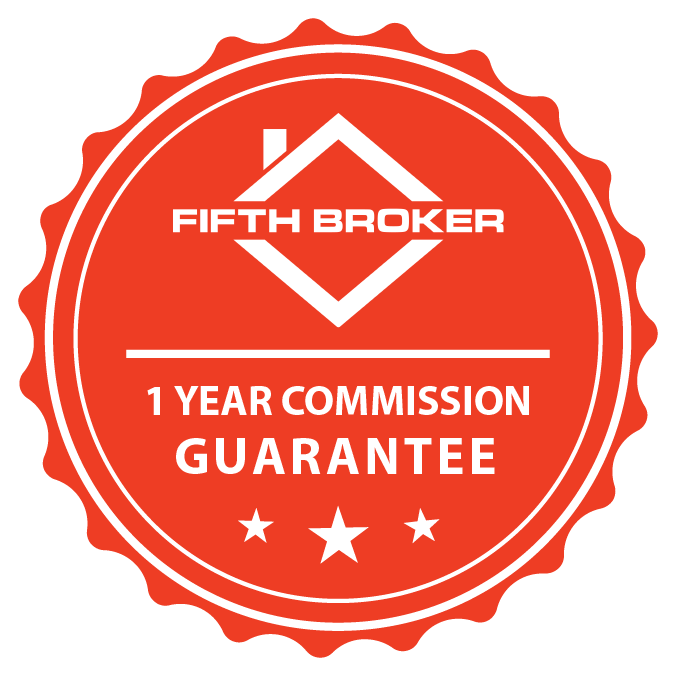 Fifth Broker 1 Year MoneyBack Guarantee
